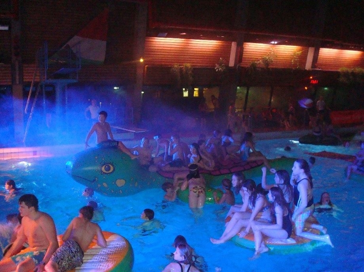 Poolparty in Rheine